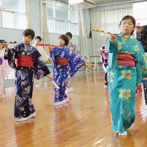 伝統芸能研究A-Ⅰ(日本舞踊)風景