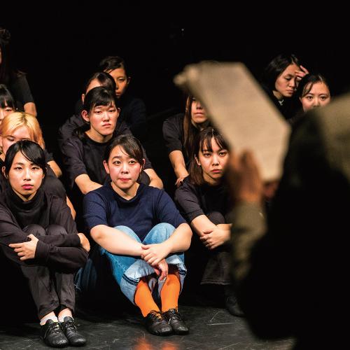 公演演習基礎、舞台演習基礎I・II風景