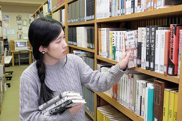 図書館実習風景